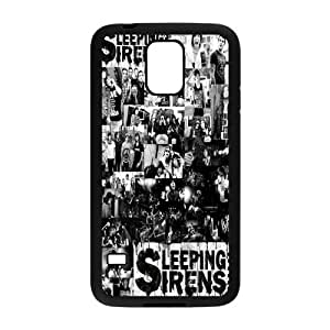 Painted Sleeping with Sirens back phone Case cover Samsung galaxy S5