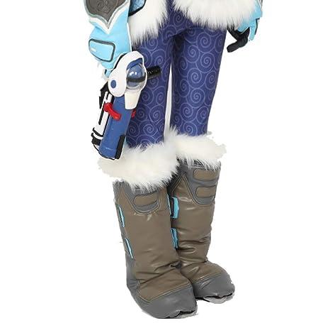 SDT Disfraces de Halloween Cosplay OW Zapatos de Mei Botas Videojuego Anime  Traje de Accesorios para 394bc6a78928