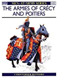 Front cover for the book Armies of Crécy and Poitiers by Christopher Rothero