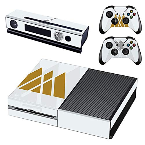 Skin Sticker Decal For Xbox One Console and 2 Controllers Skin Sticker,GSTM1242 ()
