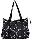 Ever Moda Quatrefoil Tote Bag X-Large