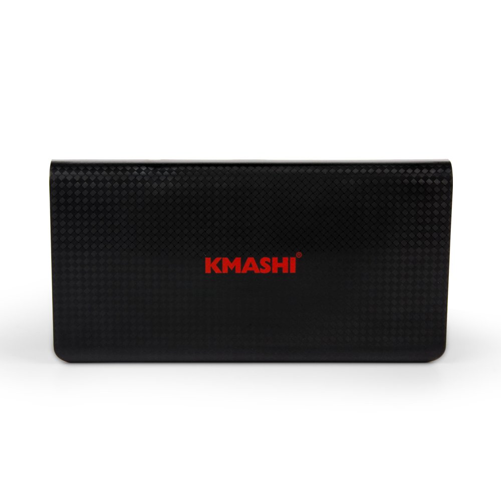 KMASHI 15000mAh External Battery Power Bank, Portable Charger with Powerful Dual USB Output and 2A Input by KMASHI (Image #6)