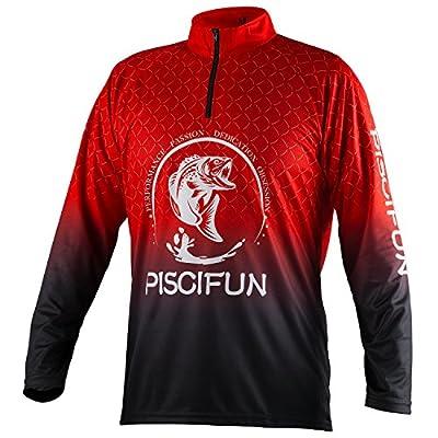 Piscifun Performance UPF Long Sleeve Fishing T-Shirt-Sun Protection Clothing