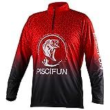 Piscifun Performance UPF Long Sleeve Fishing T-Shirt-Sun Protection Clothing L Size