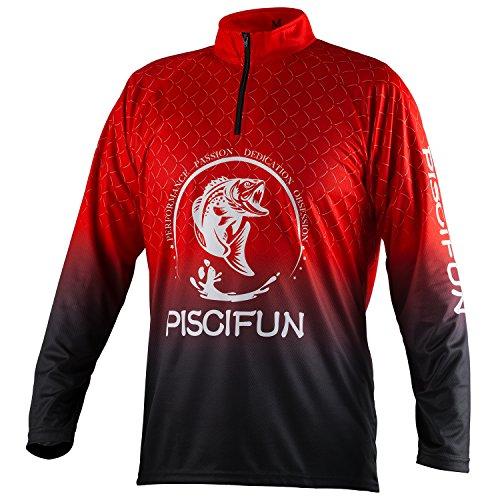 Piscifun Performance Upf Long Sleeve Fishing T Shirt Sun
