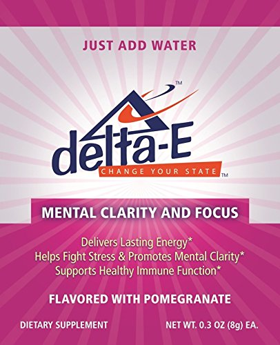 Delta-E Mental Clarity & Focus! Energy Drink (30 Packets)