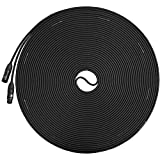 LyxPro Balanced XLR Cable 100 ft Premium Series Professional Microphone Cable, Powered Speakers