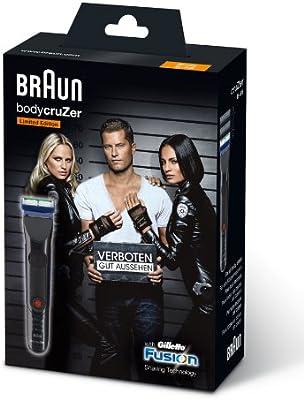 Braun Depiladora Corporal BodyCruzer Titanium Black Edition ...
