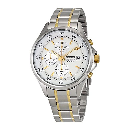 Seiko-Mens-Chronograph-Two-Tone-Stainless-Steel-Watch-Sks479