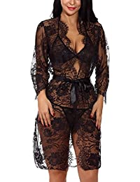 Womens Exotic Sleepwear Robe Sets Amazoncom