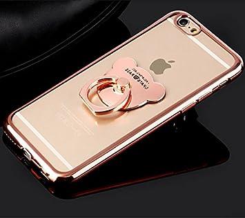 91ef2d9e62 iPhone SE ケース リング付き iPhone5s ケース 可愛い 落下防止 TPUソフト iPhone SE/5
