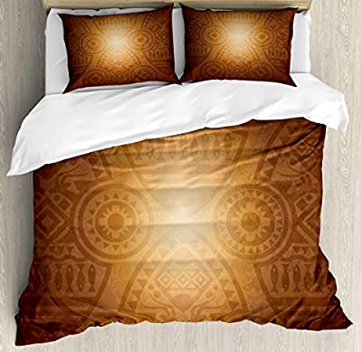 Microfiber Duvet Cover SetArt Animals Flowers Duvet Cover SetDecorative 3 Piece Bedding Set with 2 Pillow Shams