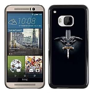 TECHCASE**Cubierta de la caja de protección la piel dura para el ** HTC One M9 ** Norwegian Viking Sword
