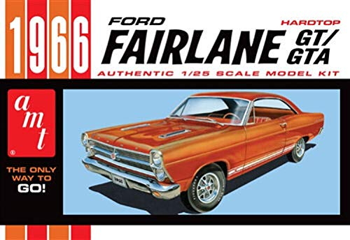 AMT 1091 1966 Ford Fairlane GT/GTA1:25 Scale Plastic Model Kit Requires Assembly. ()