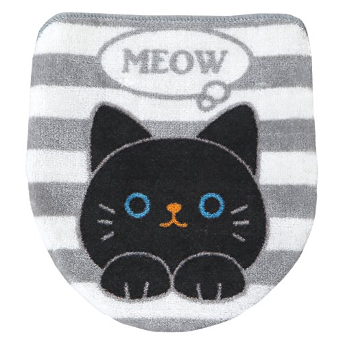 Cat's Toilet Lid Cover (Toilet Cover Seat Cute)