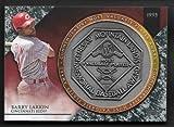 2017 Topps Update Baseball BARRY LARKIN 1995 NL MVP Award Medallion Coin CINCINNATI REDS