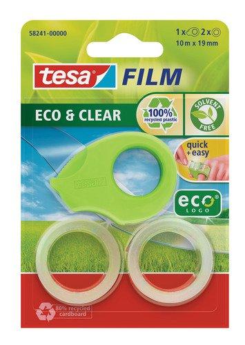 2 opinioni per Tesa 58241-00000-00 Portanastro Ecologico da Dito con 2 Rotoli di Tesafilm