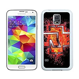 Rammstein White Samsung Galaxy S5 Screen Cover Case Newest and Fashion Design