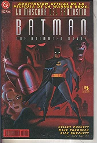 Batman especial: La mascara del fantasma: Mike Parobech, Rick Burchett Kelley Puckett: Amazon.com: Books