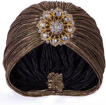 Vijiv Womens Vintage Headwraps Cocktail