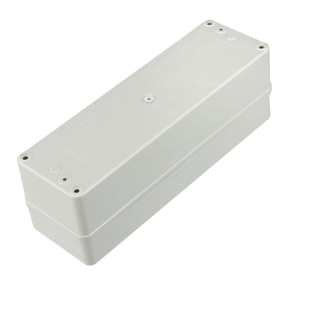 sourcingmap 83 x 81 x 56mm Electronic Plastic DIY Junction Box Enclosure Case Gray