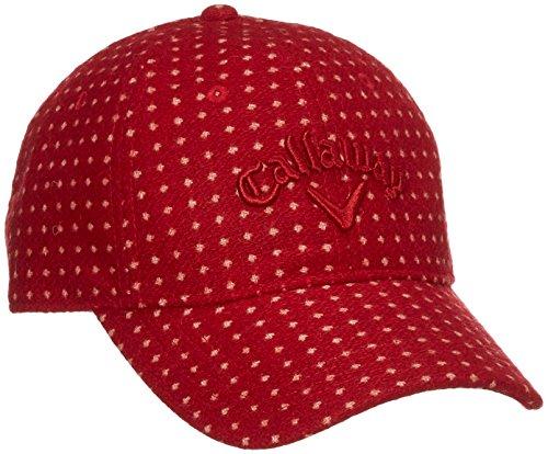 (キャロウェイ アパレル) Callaway Apparel ドット柄 キャップ (サイズ調整可能) 帽子 ゴルフ/241-7284803 [ レディース ]