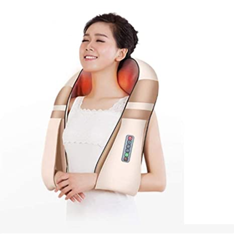Amazon.com: ZKKZ-BEAUTY masajeador eléctrico en forma de U ...