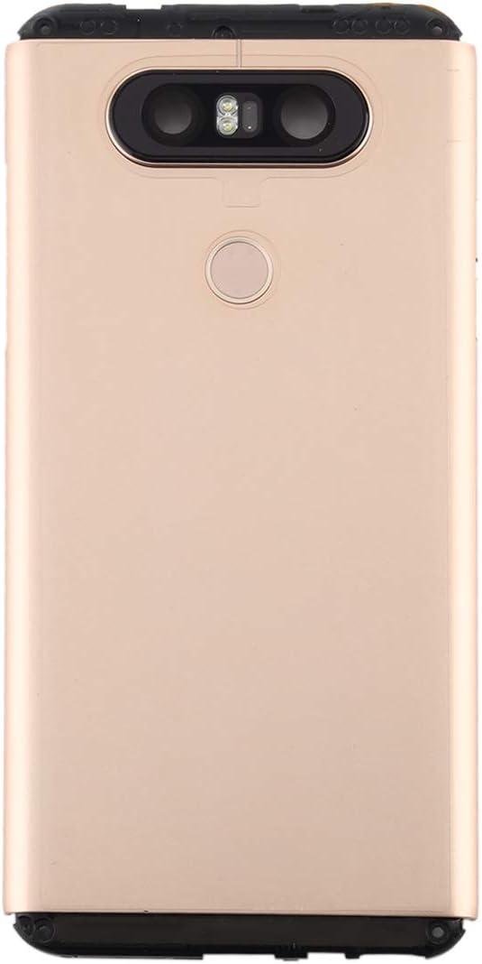 JSLY- Battery Back Cover with Camera Lens /& Fingerprint Sensor for LG V20 Mini Fashion Color : Gold Grey