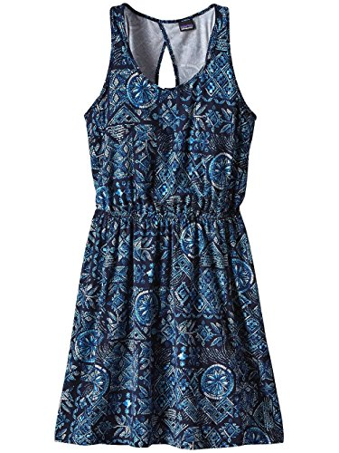 Dress navy raindrop West Patagonia blue Ashley Women qwZxWEO