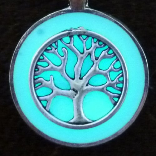 Magical Fairy Glow in the Dark Necklace Tree of Life (Hunger Games Costumes For Men)