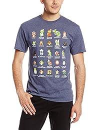 Nintendo Men's Pixel Cast T-Shirt