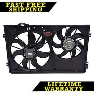Amazon Com Radiator Cooling Dual Fan For Vw Beetle Golf