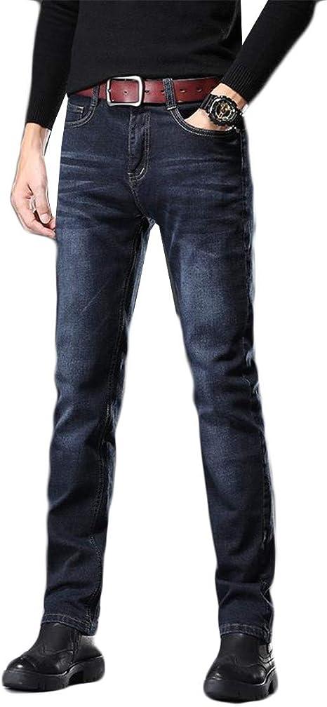 [ディーハウ] メンズ ジーンズ ビジネス カジュアル デニムパンツスキニー ジーンズ メンズ ス ジーパン ズボン大きいサイズ ストレッチ デニムパンツ ストレート ジーパン ロングパンツ