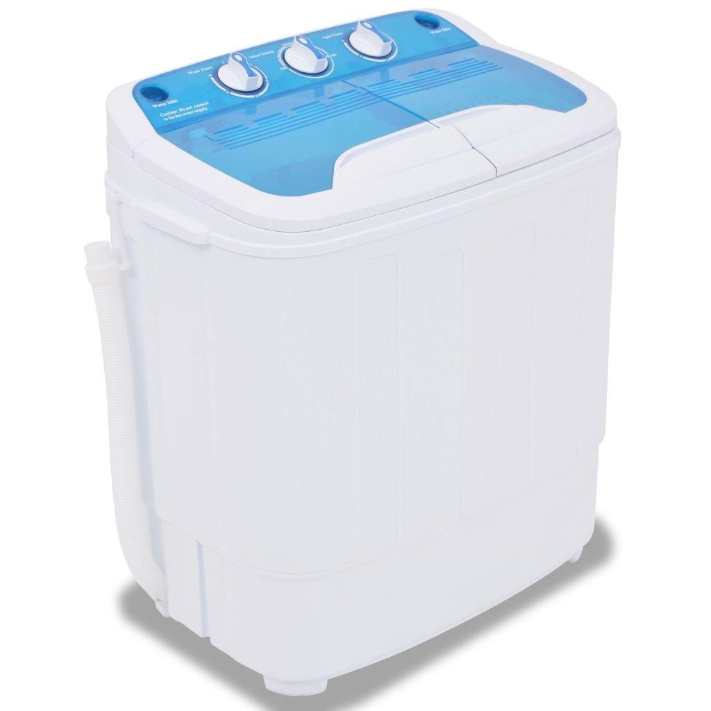 Tuduo Mini Lavadora de bandeja doble 5,6 kg Mini Lavadora portátil ...
