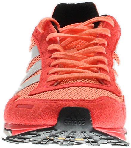Scossa Adidas Glow M rosso bianco Da Yellow Red Adios shock Scarpe Us 3 Giallo Adizero Corsa white Sun 6 rxPf4r