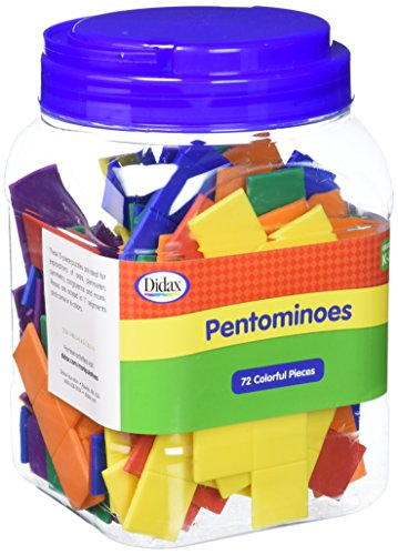 Didax Educational Resources Pentomino Group Set (Set Pentominoes)