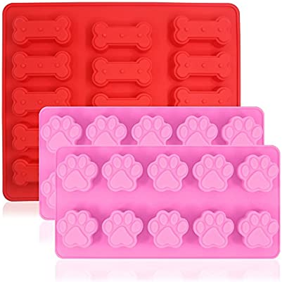 Wholeport Plum Blossom Silicone Resin Clay Molds Handmade Resin Mold 3-Hole Polymer Clay Mold