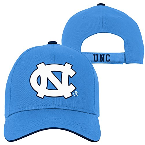 NCAA by Outerstuff NCAA North Carolina Tar Heels Kids & Youth Boys Basic Structured Adjustable Hat, Light Blue, Kids One Size
