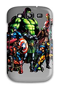 Lori Cotter Elodie's Shop Tpu Case For Galaxy S3 With Marvel