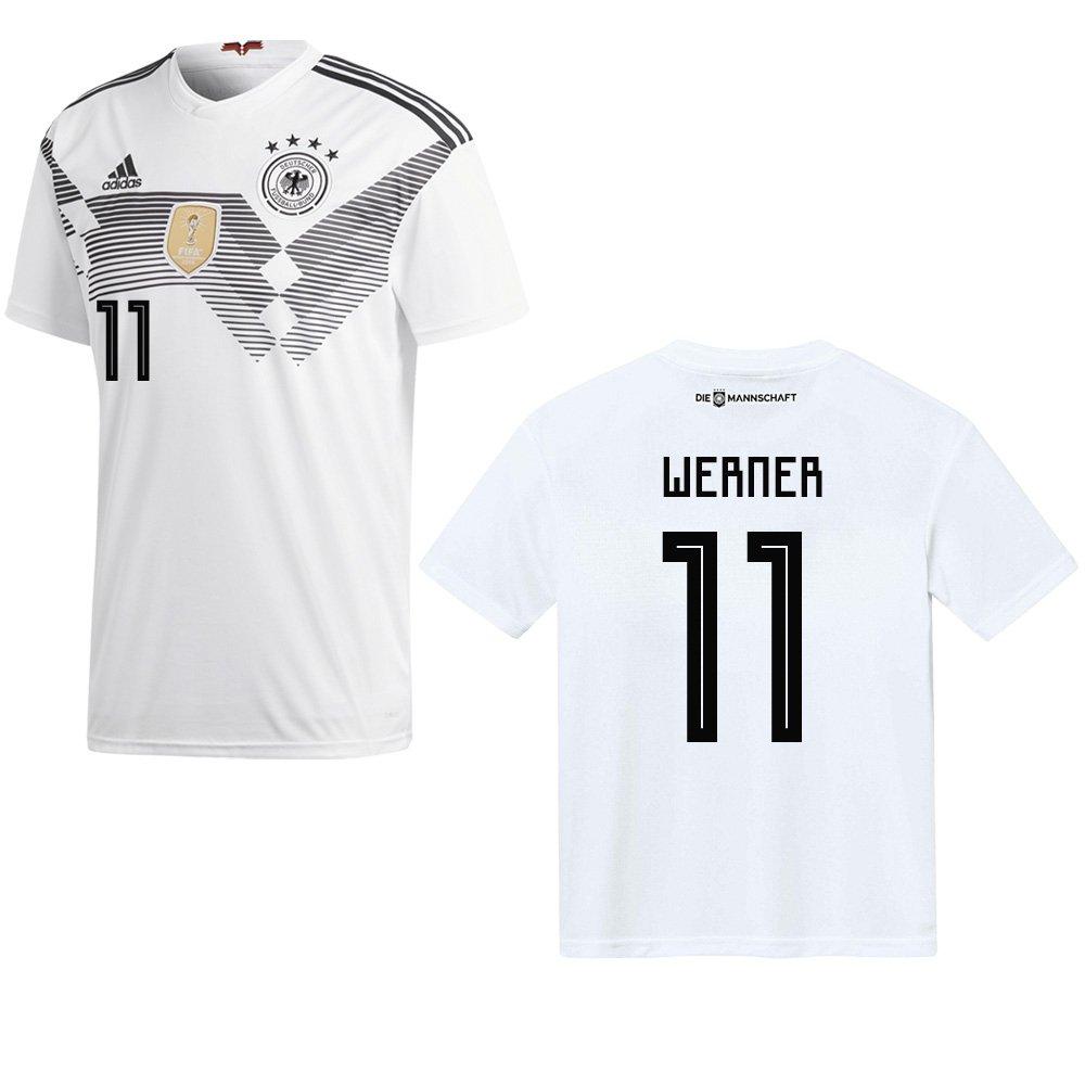 Sportiger DFB Deutschland Trikot Home Herren WM 2018 mit Spieler Name
