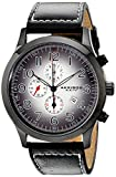 Best Akribos XXIV Popular Watches - Akribos XXIV Men's AK603BK Essential Chronograph Quartz Leather Review