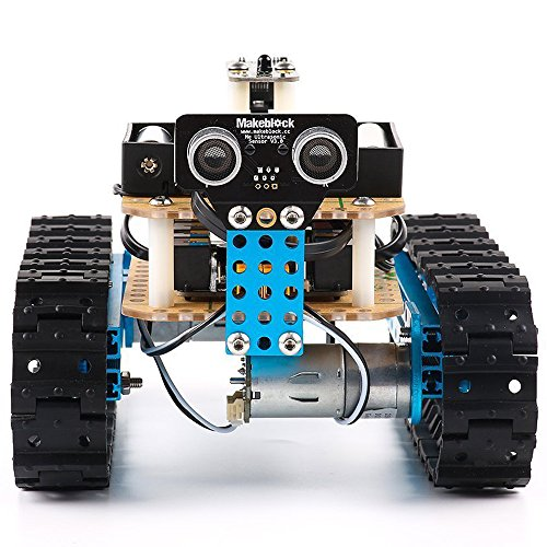 Makeblock DIY Starter Robot kit - Premium Quality - STEM Education - Arduino - Scratch 2.0 - Programmable Robot Kit for Kids to Learn Coding, Robotics and Electronics (IR Version) by Makeblock (Image #4)