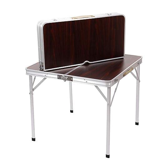 DX Mesa Plegable Mesa Exterior y Juego de sillas Mesa portátil ...