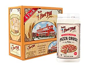 Bob's Red Mill Pizza Crust Mix, 16-ounces (Pack of4)