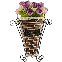 Oneoftheworld 1pc Vase Flower Plan Home Decoration Supplies Dining Accessories (TypeV9)