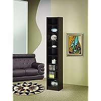 Coaster Home Furnishings  Modern Transitional Nine Tier Organizer Bookcase Storage Shelf - Cappuccino