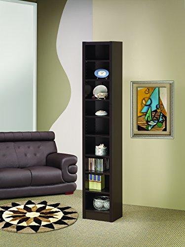 Coaster Home Furnishings 800285 Casual Bookcase, Cappuccino