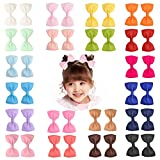 "Best Barrettes For Toddlers - Prohouse 40 PCS 3"" inches Baby Girls Ribbon Review"