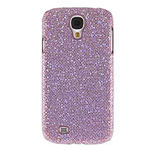 GJYSequined Skinning Plastic Back Case Cover for Samsung Galaxy S4 I9500 , Silver