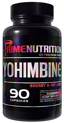 Yohimbine | Premier Nutrition | L'énergie & Fat Loss | 90 capsules